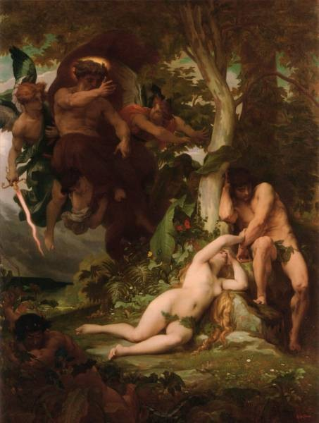 The Expulsion of Adam and Eve from the Garden of Paradise